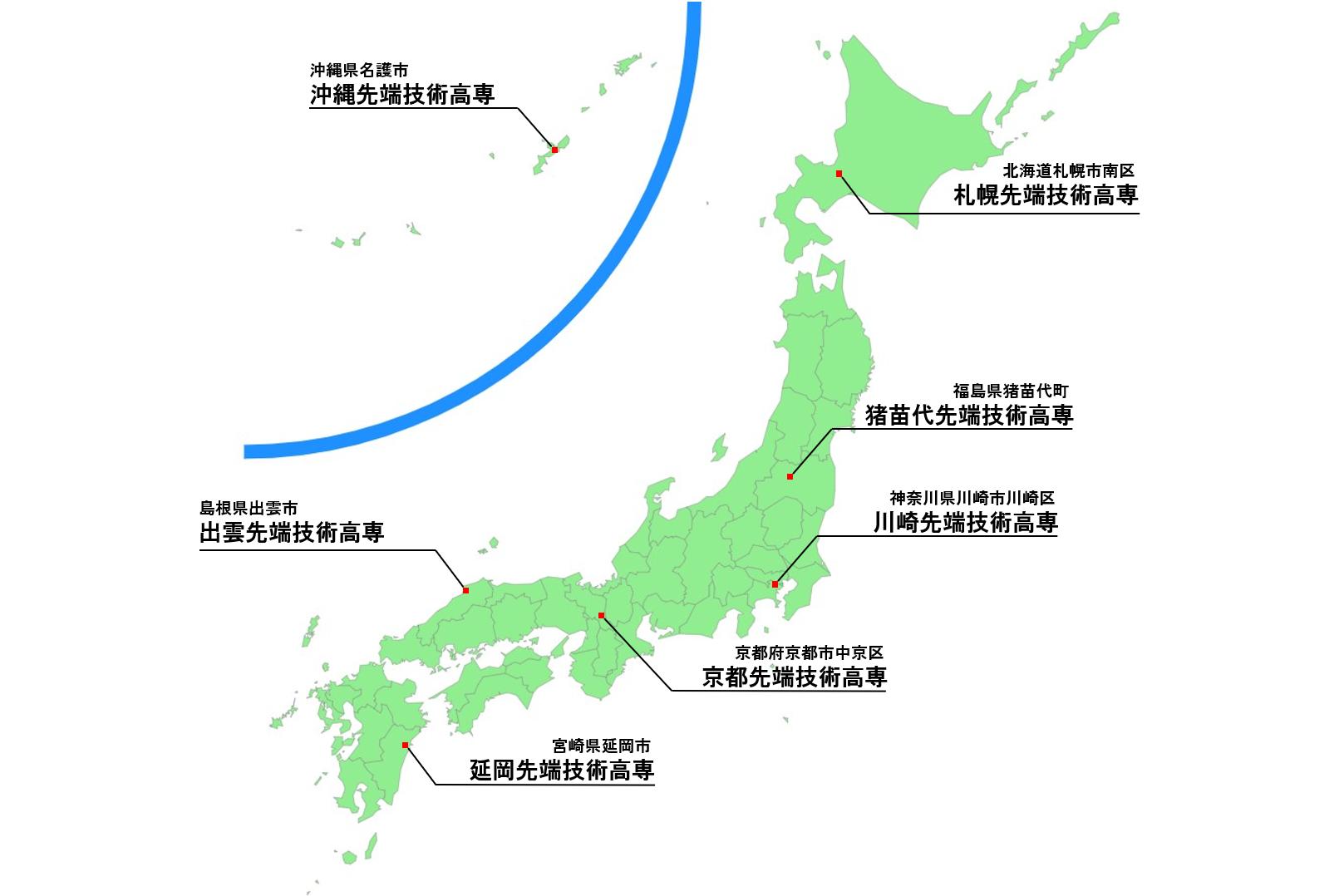 kosen-map